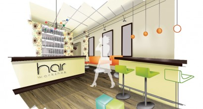 Interior Proposal - Hair Salon