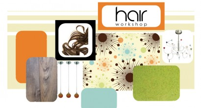 Mood Board - Hair Salon