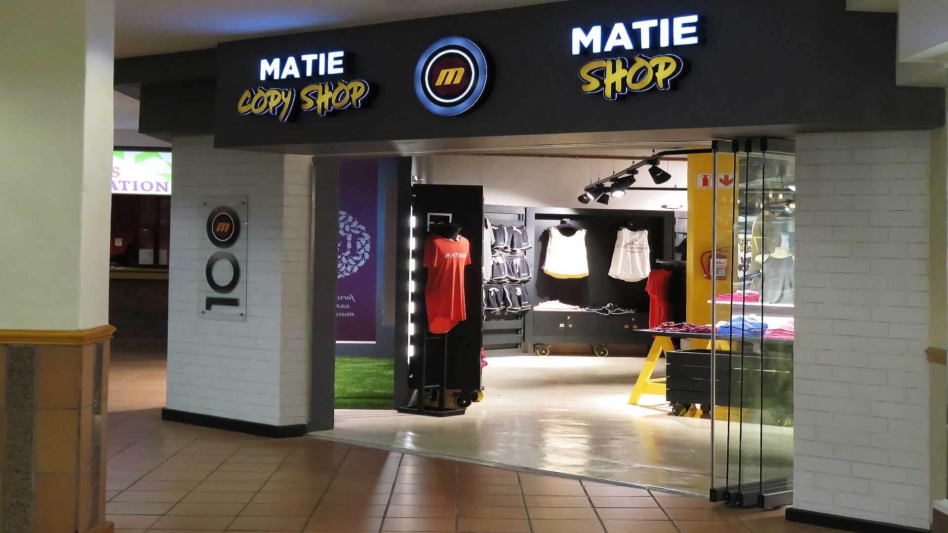 1 Die Matie & Copy Shop
