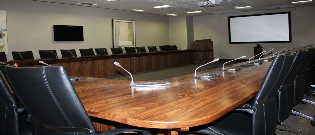 Stellenbosch University – Rectorate Boardroom